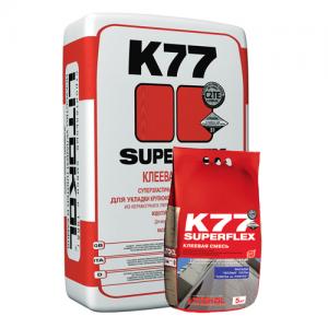 SuperFlex K77  - эластичный клей для плитки и керамогранита