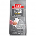 Эластичная затирка для швов LUGATO (Белая) Flexibel Weiss, 5 кг