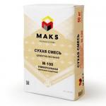 Сухая универсальная смесь М-100 MAKS, 50 кг