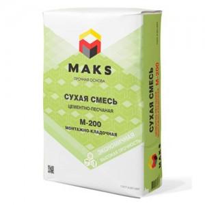Смесь М200 MAKS монтажно-кладочная, 50 кг