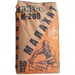 """Монтажно-кладочная смесь М200 """"Малахит"""", 50 кг"""