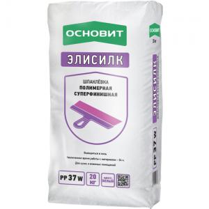 ОСНОВИТ Т-37 ЭЛИСИЛК PP37 W- полимерная шпатлевка суперфинишная