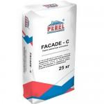 Шпатлевка финишная фасадная цементная серая PEREL FACADE-C