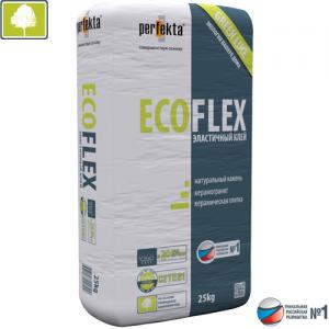 ECOFLEX - экологичный клей для керамоганита, камня и плитки