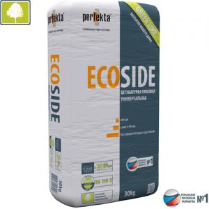 ECOSIDE GREEN LINE - экологичная гипсовая штукатурка