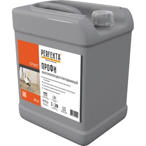 Грунтовка PERFEKTA (Перфекта) Профи высококонцентрированная, 10 л