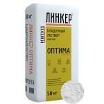 Кладочный раствор для кирпича Perfekta ЛИНКЕР ОПТИМА (белый), 50 кг