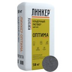 Кладочный раствор для кирпича Perfekta ЛИНКЕР ОПТИМА (темно-серый), 50 кг