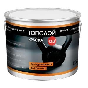 Perfekta Топслой Краска полиуретановая для бетона, 3 кг