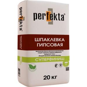 Суперфинишная гипсовая шпаклевка Perfekta / Перфекта СУПЕРФИНИШ