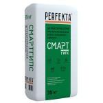 Штукатурка PERFEKTA СмартГипс Серый гипсовая, 30 кг