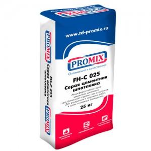 Promix FH-C-025 фасадная цементная шпатлевка