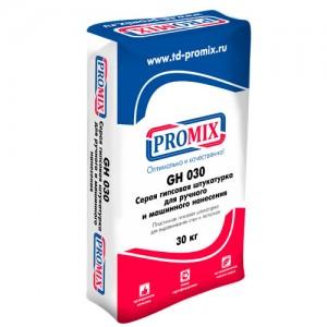 Promix GH-030 - гипсовая серая штукатурка