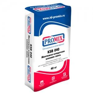 Promix KSB-040 клей для блоков из ячеистого бетона