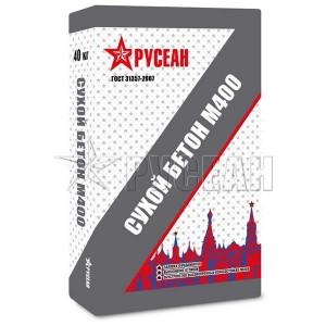 "Пескобетон М400 РУСЕАН ""Сухой бетон"", 40 кг"