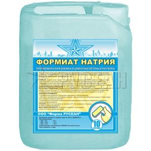 Формиат натрия Русеан противоморозная добавка, 10 л