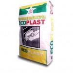 Гипсовая белая штукатурка РУСЕАН Ecoplast, 30 кг