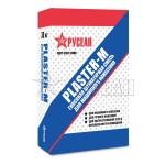 Штукатурка гипсовая Русеан PLASTER-М, 30 кг