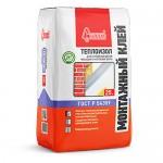 Монтажный клей для теплоизоляции Старатели Теплоизол, 25 кг