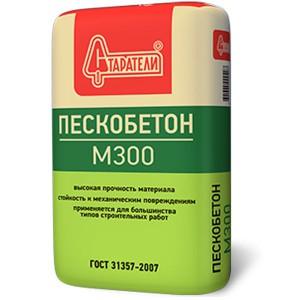 Пескобетон М300 Старатели 25/40 кг