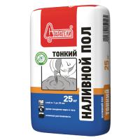 Наливной пол финишный СТАРАТЕЛИ ТОНКИЙ, 25 кг