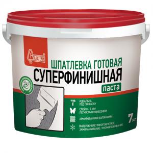 Готовая полимерная шпатлевка Старатели Суперфинишная