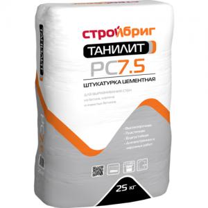Цементная штукатурка Стройбриг Танилит PC 7.5