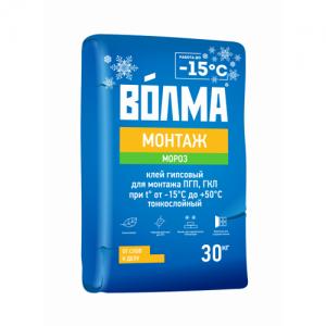 Волма Монтаж МОРОЗ морозостойкий монтажный клей