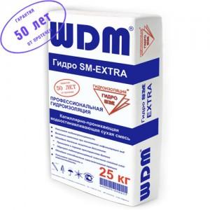 Проникающая гидроизоляция для бетона и кирпича WDM Гидро SM–EXTRA