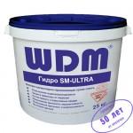 Гидроизоляция железобетонных конструкций WDM Гидро-SM-ULTRA, 25 кг