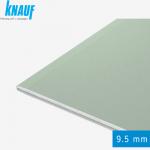 Гипсокартон КНАУФ 9,5 мм влагостойкий