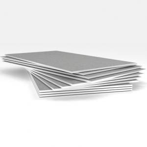 Влагостойкая гипсостружечная плита ГСПВ 2500*1250*12