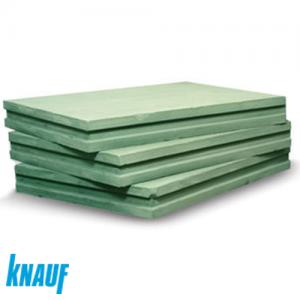 Пазогребневая гипсоплита Knauf влагостойкая