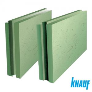 Пазогребневая влагостойкая гипсоплита Knauf  толщиной 100 мм