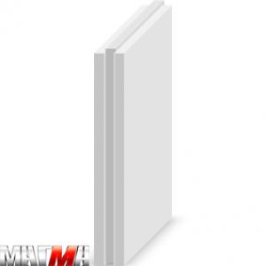 Пазогребневая гипсовая плита МАГМА полнотелая стандартная